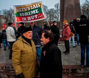 Kazimieras Uoka Kovo 11-osios eitynėse Vilniuje 2013 m. kovo 11 d.   Alkas.lt, A. Sartanavičiaus nuotr.