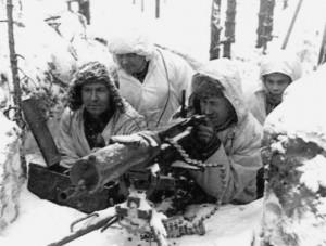Suomių kulkosvaidininkai | wikipedia.org nuotr.