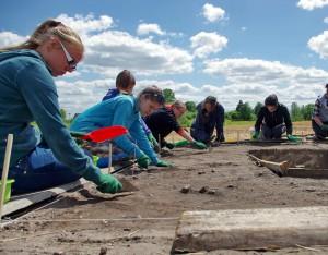 2016 m. archeologiniai tyrinėjimai | Ž. Montvydo nuotr.