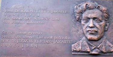Atminimo lenta Bazelyje | A. Zolubo archyvo nuotr.