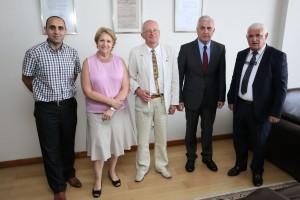 Lietuvos ambasadoje Azerbaidžiane | Alkas.lt, A. Sartanavičiaus nuotr.