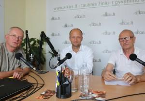 Audrys Antanaitis, Juozas Zykus, Nerijus Mačiulis | Alkas.lt, A. Sartanavičiaus nuotr.