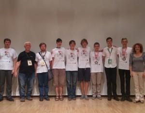 Matematikos olimpiados Austrijoje dalyviai