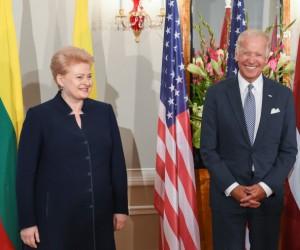 Dalia Grybauskaitė ir Džozefas Baidenas | lrp.lt, R. Dačkaus nuotr.