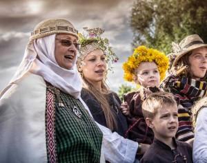 Ramuvos stovykla atgaivino lietuvišką dvasią | V. Girskienės nuotr.