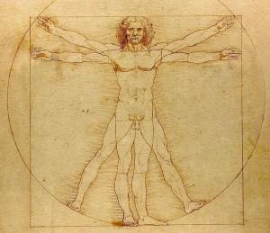 Leonardo Davinčio piešinys 1490 | wikipedia.org nuotr