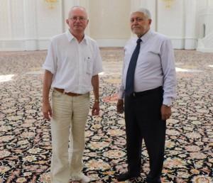 Audrys Antanaitis, dr. Haji Sabir Hassanli | Alkas.lt, A. Sartanavičiaus nuotr.