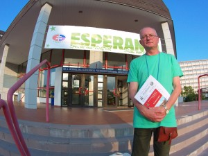Audrys Antanaitis esperantininkų kongrese Slovakijoje   Alkas.lt, A. Karpovo nuotr.