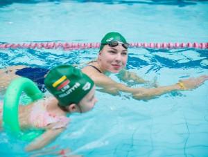 R. Meilutytės plaukimo pamoka | rengėjų nuotr.