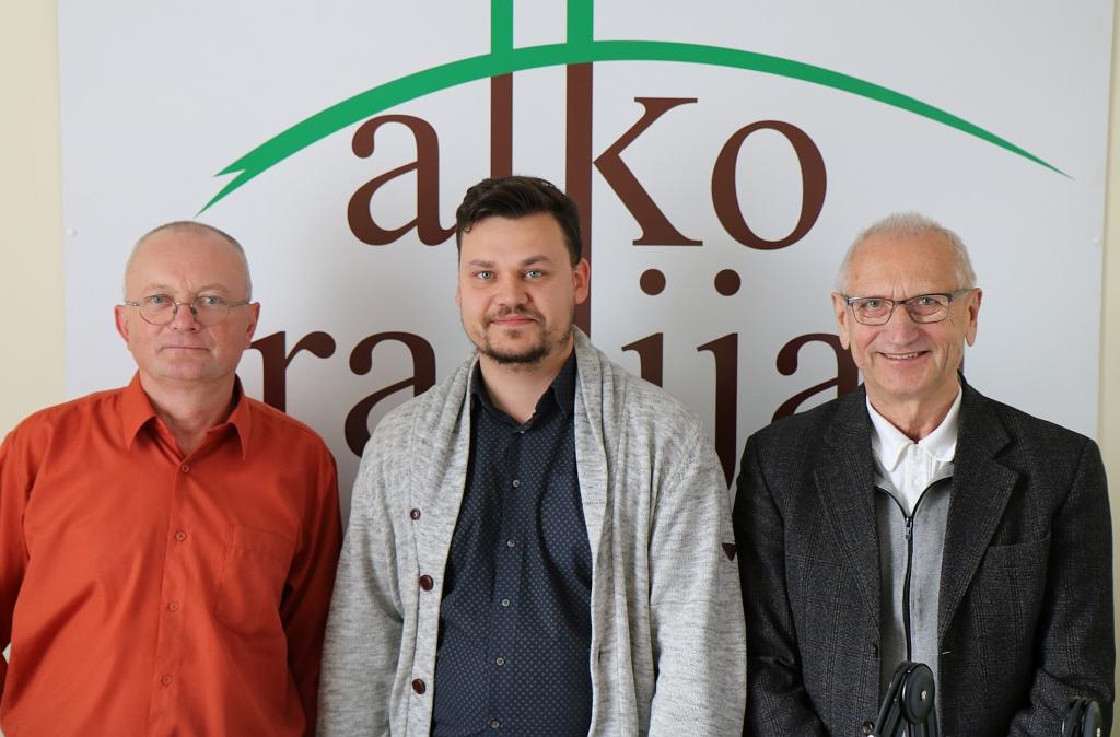 Audrys Antanaitis, Paulius Baltokas ir Juozas Zykus | A. Sartanavičiaus nuotr.