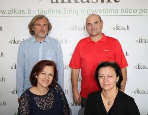 Arūnas Bliūdžius, Gerimantas Statinis, Genovaitė Kynė ir Miglė Greičiuvienė | alkas.lt nuotr.