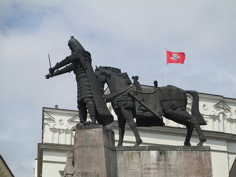 Paminklas Gediminui Vilniuje | wikipedija.org nuotr.
