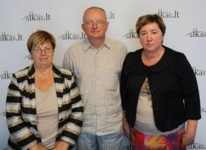 Audrys Antanaitis, Janina Matuizienė, Gražina Gruzdienė   Alkas.lt, A. Sartanavičiaus nuotr.