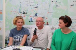 Margarita Jankauskaitė, Audrys Antanaitis, Ieva Drėgvienė   Alkas.lt, A. Sartanavičiaus nuotr.