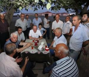 Susitikimas pabėgėlių stovykloje | Alkas.lt, A. Sartanavičiaus nuotr.