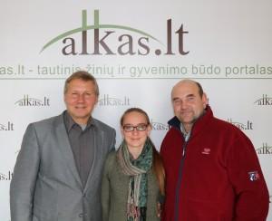 Gintaras Labutis, Milda Kvizikevičiūtė ir Gerimantas Statinis | alkas.lt nuotr.