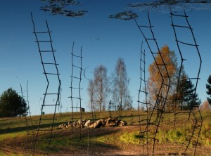 """Migracija"" | N. Učvatova, V. Kubilius, VU botanikos sodo nuotr."