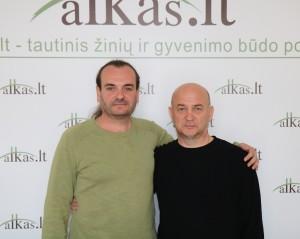 Gintaras Narajanas ir Gediminas Citukas | alkas.lt nuotr.