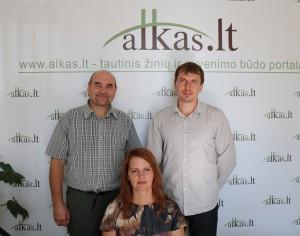 Gerimantas Statinis, Donatas Kryzna ir Jolita Butkutė | A. Sartanavičiaus nuotr.