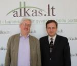 Tomas Baranauskas, Darius Alekna   Alkas.lt, nuotr.