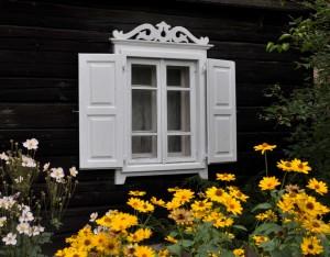 Senovinės pirkios langas Grabijoluose | rengėjų nuotr.
