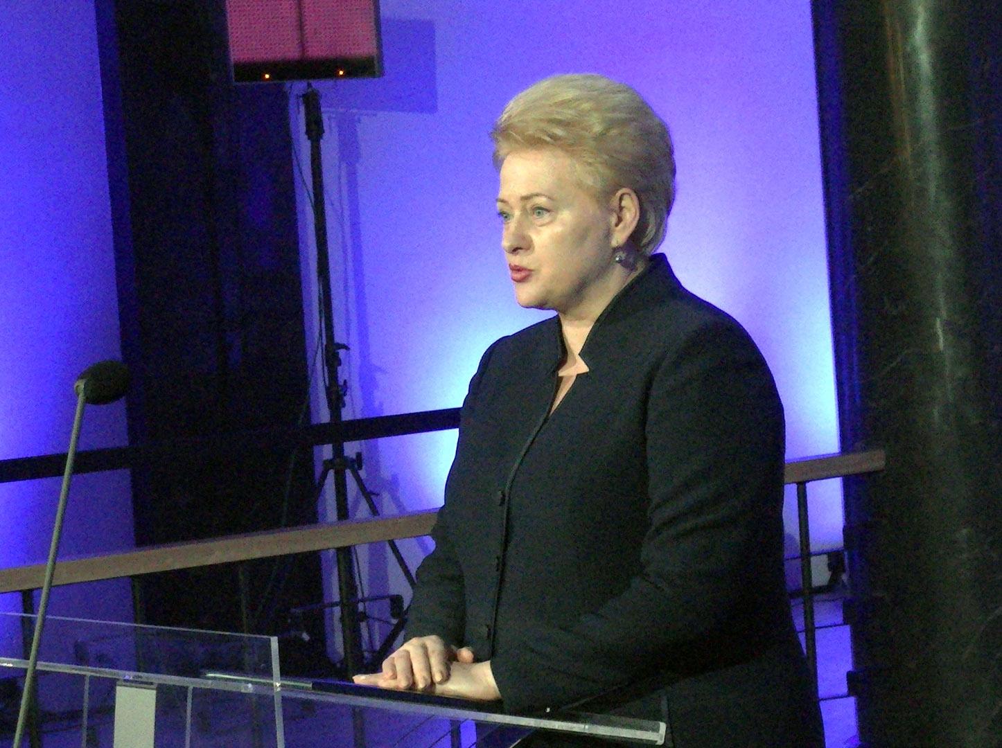 Sveikina Lietuvos Respublikos Prezidentė Dalia Grybauskaitė | Alkas.lt, A.Sartanavičiaus nuotr.