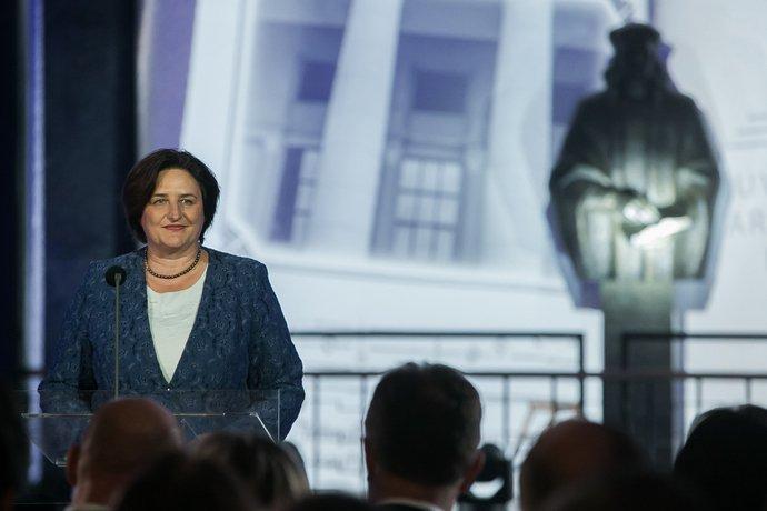 Sveikina Lietuvos Respublikos Seimo Pirmininkė Loreta Graužinienė | lrs.lt, O. Posaškovos nuotr.