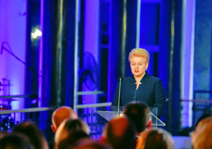 Sveikina Lietuvos Respublikos Prezidentė Dalia Grybauskaitė | lrp.lt, R. Dačkaus nuotr.