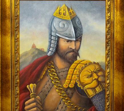 Karalius Gediminas | A.Liupšio paveikslas 2007 m.