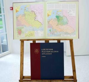 Pristatytas Lietuvos nacionalinis atlasas   U. Antanavičiūtės nuotr.