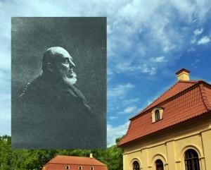 Liubavo dvaro savininkas, skulptorius ir architektas Rapolas Slizienis | Alkas.lt koliažas