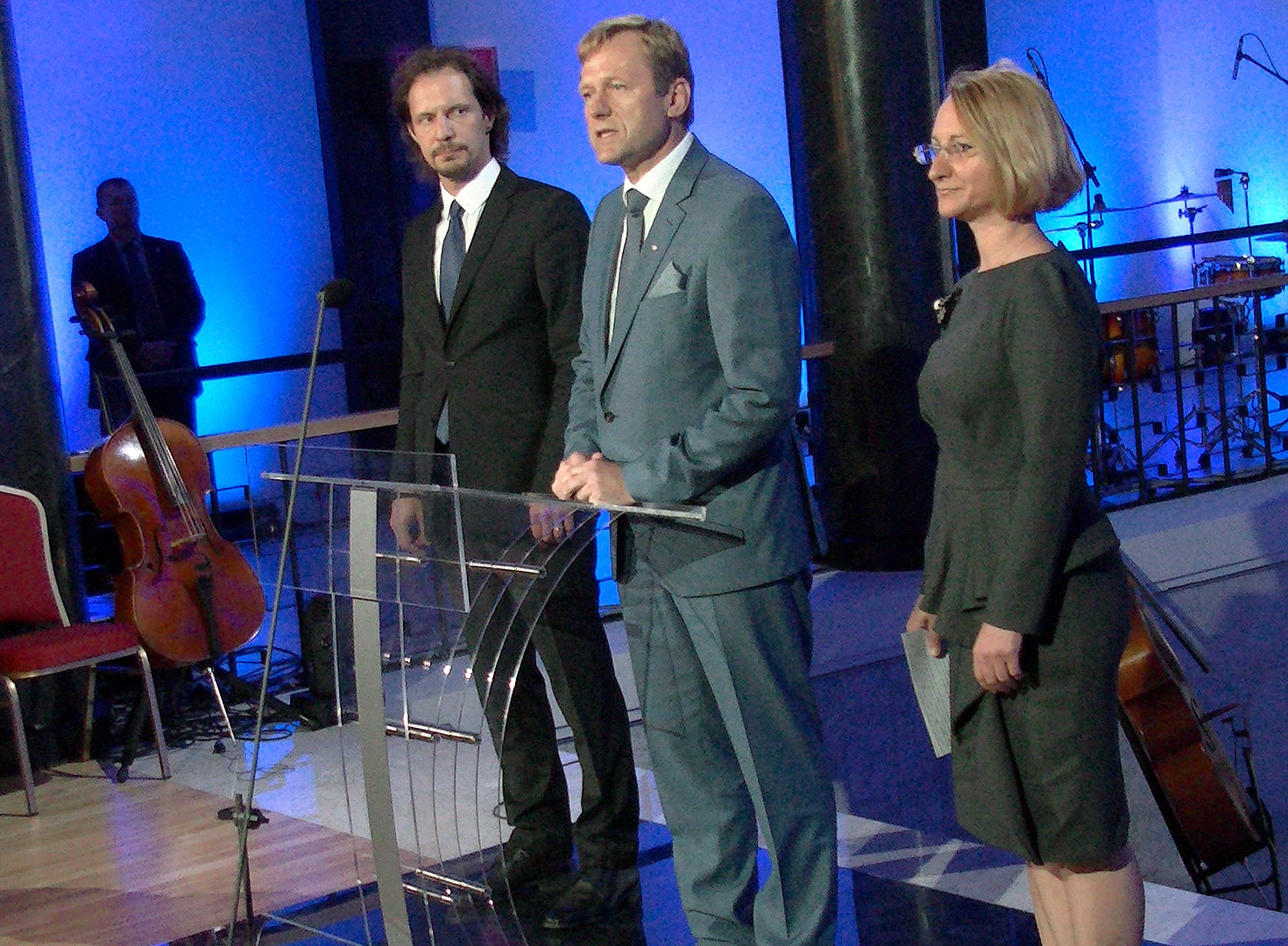 Sveikina Lietuvos Respublikos Kultūros ministras Šarūnas Birutis |Alkas.lt, A. Sartanavičiaus nuotr.