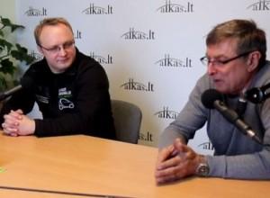 Viktoras Kalpakovas ir Vaidotas Marozas | Alkas.lt nuotr.