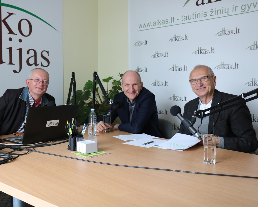 Audrys Antanaitis, Mindaugas Pakalnis ir Juozas Zykus | alkas.lt nuotr.