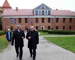 Gardino ir Kauno rajonai kartu gaivins LDK paveldą | Kauno r. savivaldybės nuotr.