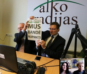 Audrys Antanaitis, Dainius Radzevičius,Giedrime Didžiapetriene, Lina Bacevičiūte | Alkas.lt nuotr.