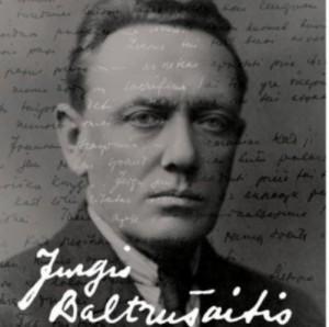 Jurgis Baltrušaitis. Knygos viršelis