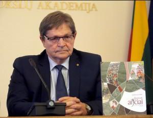 Akademikas Eugenijjus Jovaiša | Alkas.lt, J. Vaiškūno nuotr.
