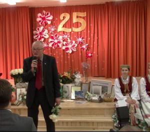 Rygos lietuvių vidurinė mokykla švenčia 25-metį | Alkas.lt, nuotr.