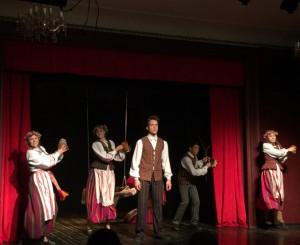 """Plungės teatras """"Saula"""" dalyvavo tarptautiniame jaunimo teatrų projekteTaline   Plungės kultūros centro nuotr."""