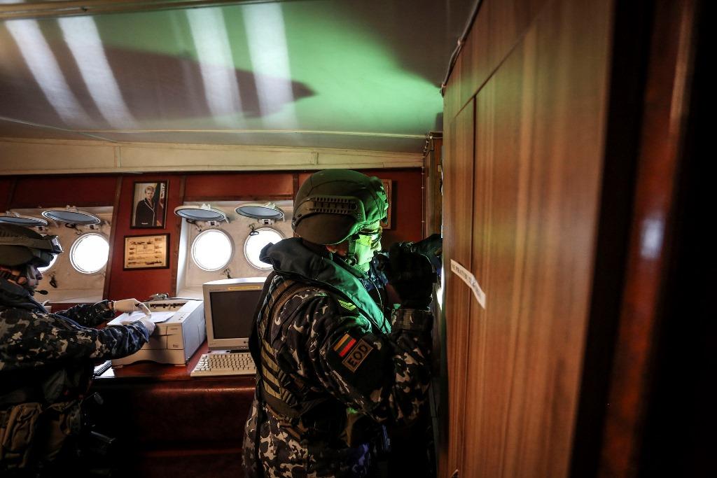 Lietuvos kariai dalyvaus ES karinėje operacijoje prieš nelegalius migrantus | kam.lt, I. Budzeikaitės nuotr.