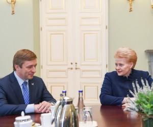 D. Grybauskaitė: Formuoti valdančiąją koaliciją turėtų LVŽS | lrp.lt, R. Dačkaus nuotr.