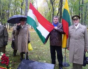 Kauniečiai paminėjo 1956-ųjų Vengrijos revoliuciją ir Vėlinių įvykius | Lietuvos sąjūdžio Kauno tarybos nuotr.