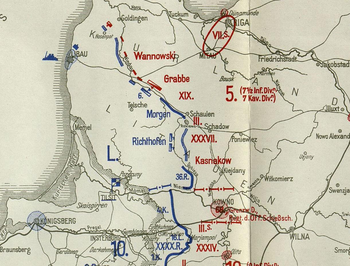 Vokietijos frontas prieš Rusiją, 1915-05-07| rengėjų nuotr.
