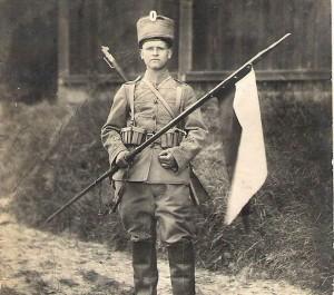 Husarų pulko karys, Dubysa, 1915 m. | archybvinė nuotr.