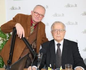 Audrys Antanaitis, Algimantas Liekis | Alkas.lt, A. Sartanaviciaus nuotr.