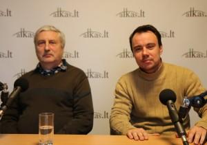 Arūnas Šlaustas, Marius Šinkūnas | Alkas.lt, nuotr.