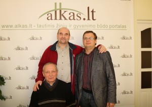 Alvydas Barzdėnas, Darius Vilkišius ir Gerimantas Statinis |Alkas.lt nuotr.