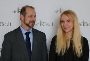 Ryšardas Burda, Renata Saulytė | Alkas.lt, A. Sartanavičiaus nuotr.