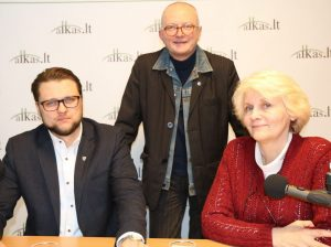 Henrikas Eismontas, Audrys Antanaitis, Aldona Juodelienė | Alkas.lt, A. Sartanaviciaus nuotr.